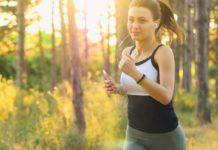 Kolka podczas biegania
